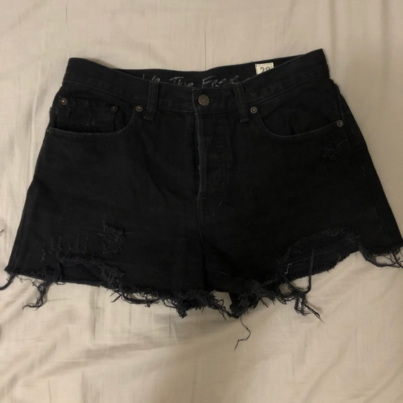 Free People Pants - Free People Cut-off Shorts